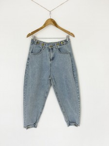 Jeansy slouchy vintage